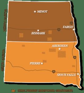 South Dakota & North Dakota pheasant hunts