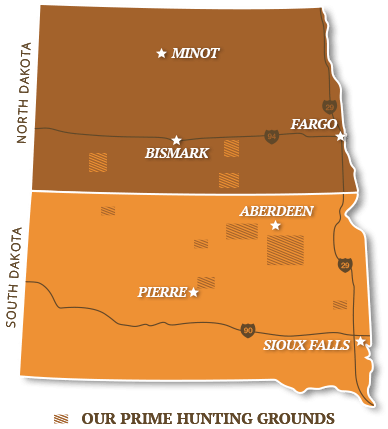 South Dakota & North Dakota pheasant hunts